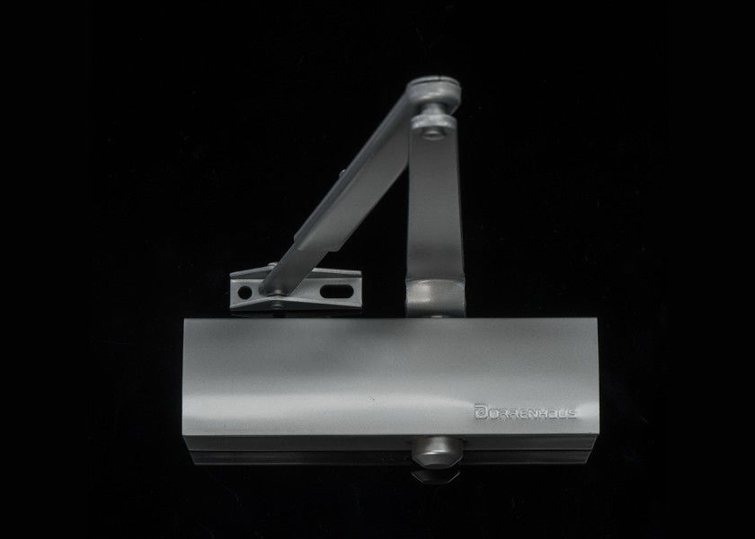 Euro Style Aluminum Door Closer Size 4 Backcheck Round Cover For 85kg Door